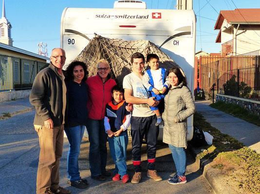 Franziska und ihre Familie