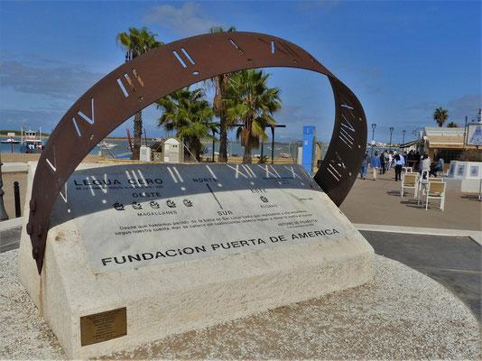 Denkmal für Magellan und den nach Spanien zurückgekehrten Kapitän Elcano