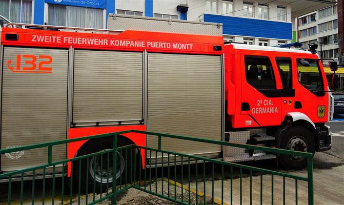 Auch die Feuerwehr spricht Deutsch!