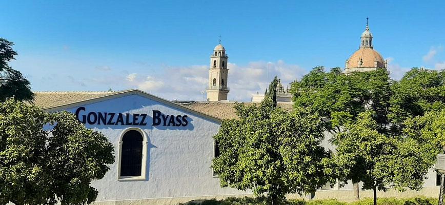 Die Jerez-Bodega Gonzalez Byass....