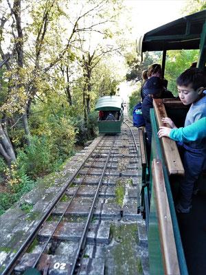 Bahn auf den Cerro San Cristobal