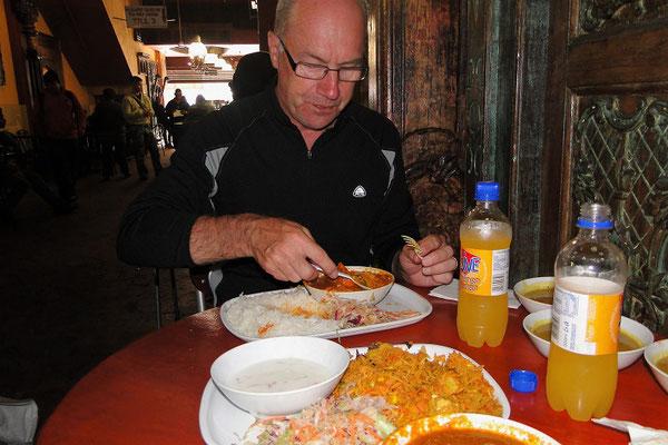 Ein feines Curry zum Mittag