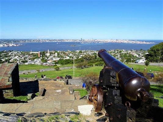 ....mit Sicht auf Montevideo