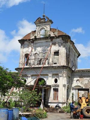 Das alte Spitalgebäude wird renoviert
