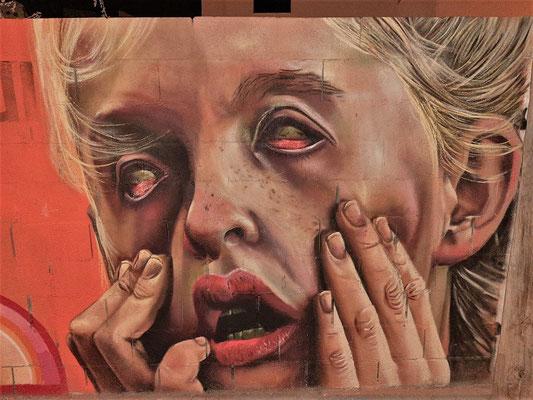 Graffiti-Strasse....