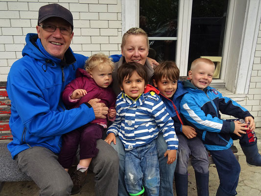 Unsere vier 'Racker' - Zoe, Louis, Gregory und Gian