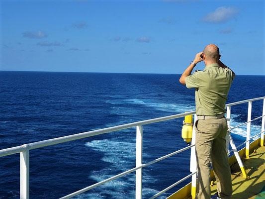 'Mann über Bord!'