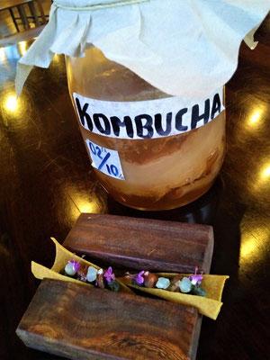 Kombucha - fermentiertes Getränk
