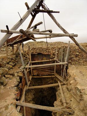 Alte stillgelegte Kupfermine