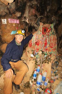 El Tío - der Beschützer der Minenarbeiter