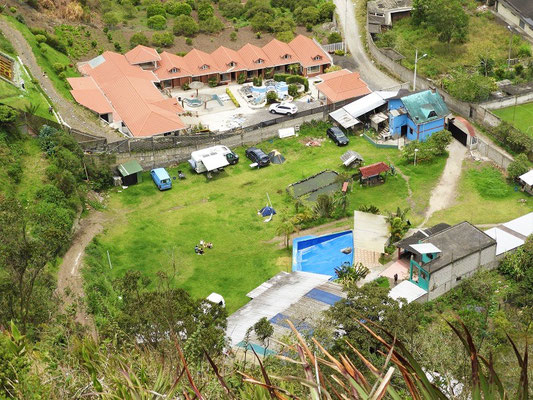 ....und unseren Campingplatz