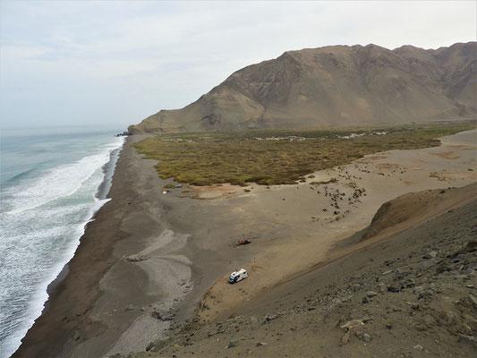 Einen Strand fast ganz alleine für uns :o)