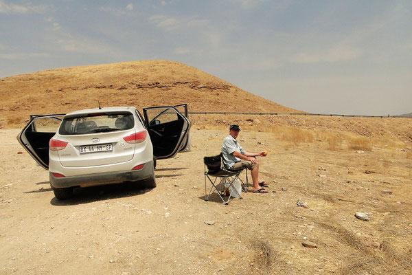 Picknick auf dem Kuiseb Pass