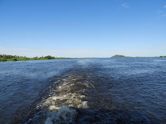 Auf dem Río Paraguay geht unsere Reise weiter