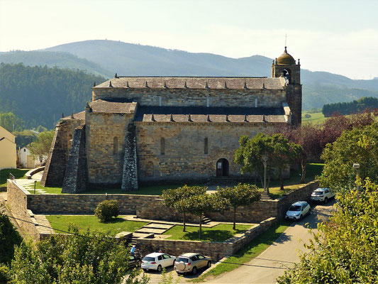 Basilika San Martiño de Bares aus dem 1. Jahrhundert