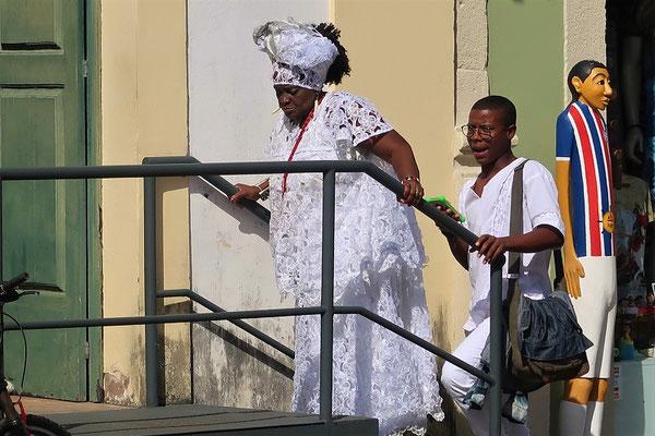 Typische Tracht der Bahia