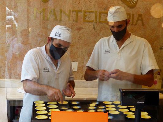 Pasteis de Nata....ein reines Handwerk