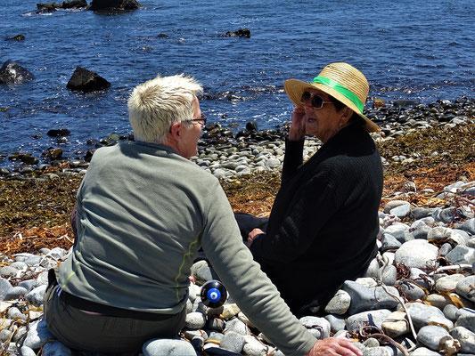 Rosaria - die Chefin - erklärt mir alles wissenswerte über Kelb