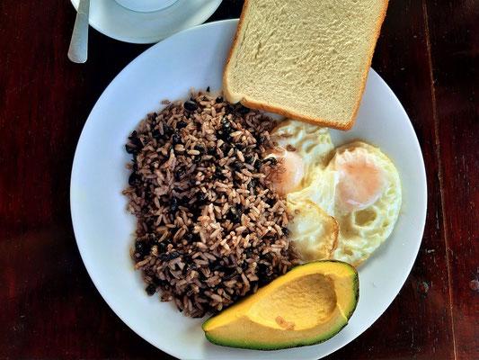 Gallo pinto/Gefleckter Hahn - So frühstücken die 'Ticos'
