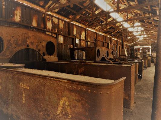Friedhof der Dampflokomotiven