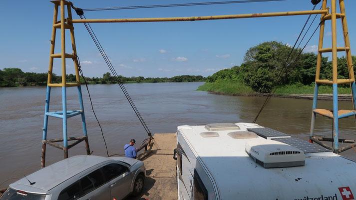 Auf dem Río Magdalena nach Yati