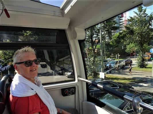 Stadtrundfahrt mit dem 'Touri-Bus'