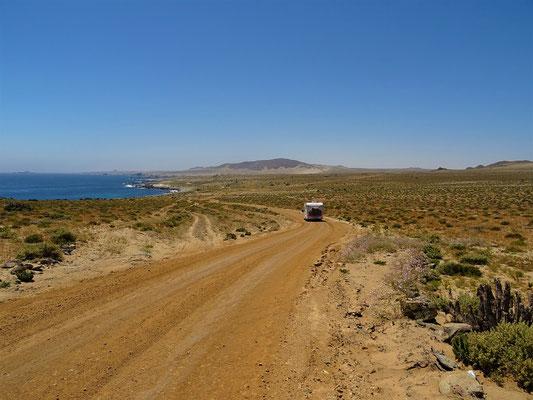 Der Eingang zur Atacama-Wüste....