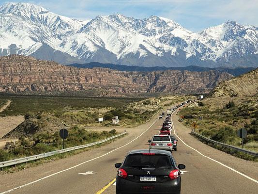 Die Argentinier wollen ins Gebirge