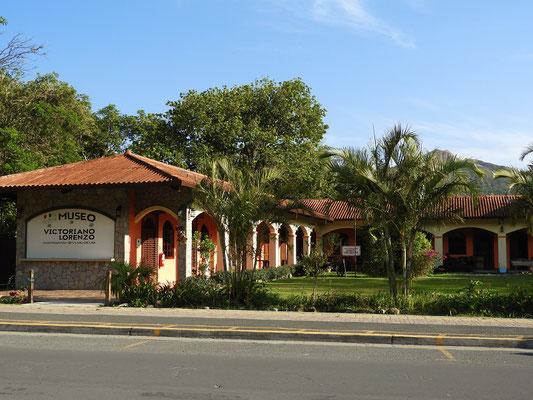Es gibt leider nicht viel zu sehen - auch das Museum/Wohnhaus von Victoriano Lorenzo ist geschlossen