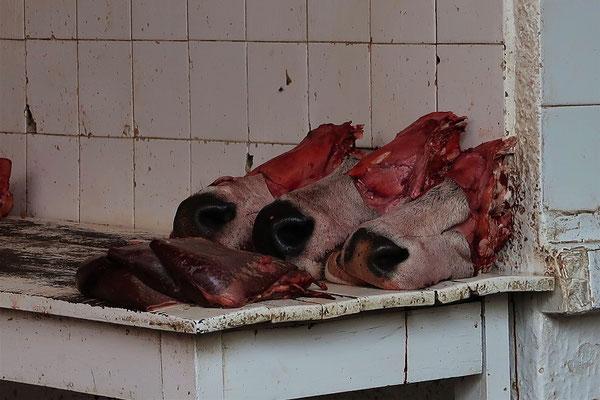 In der Fleischabteilung