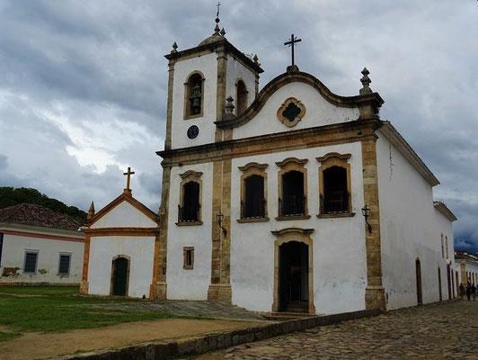 Igreja de Santa Rita - 1722 von und für die freien Sklaven errichtet