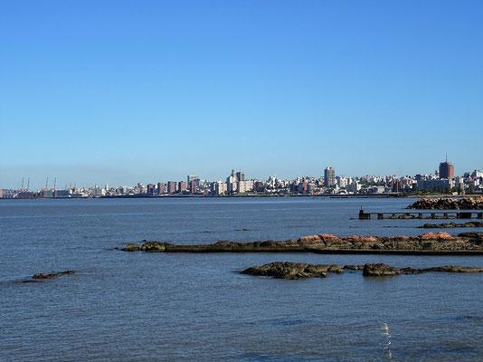 ....mit Blick auf Montevideo