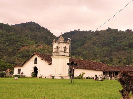 Iglesia de San Jose, erbaut 1743 - die älteste, noch genutzte Kirche Costa Ricas