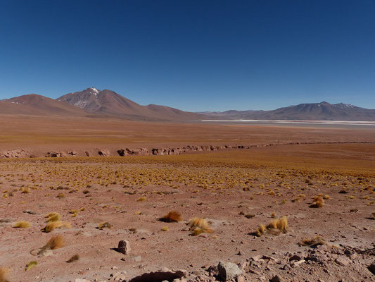 Canyon mit Laguna Colorada