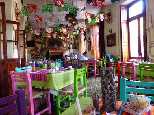 Typisches mexikanisches Restaurant