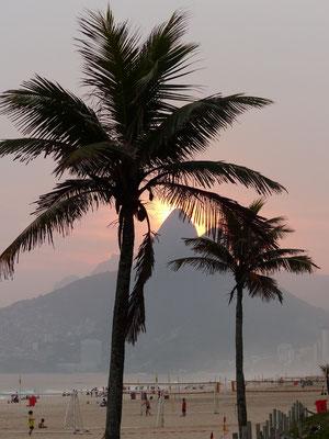 Sonnenuntergang Ipanema
