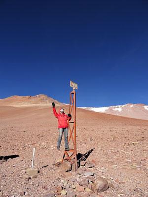 Grenze Argentinien - Chile