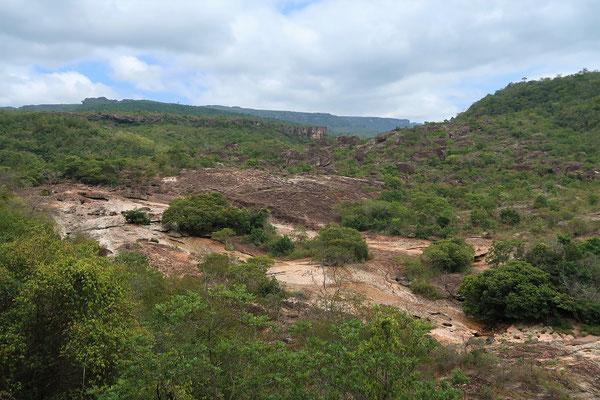 Auf der Wanderung zum Mirante - im Hintergrund