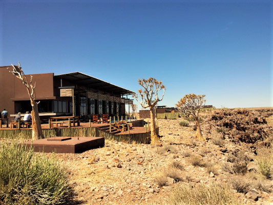 Hauptgebäude der Fish River Canyon Lodge