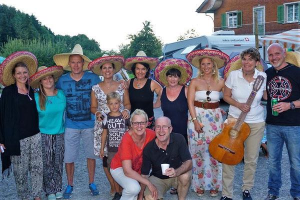 Die Mariachi-Lehrer-Band nach ihrem super Auftritt!