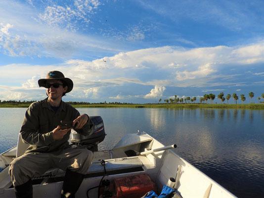 Mit Nery unterwegs auf Fischfang
