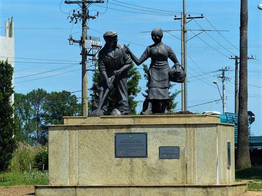 Denkmal für die ersten holländischen Siedler
