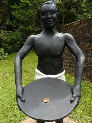 Für die Sklaven war es Knochenarbeit