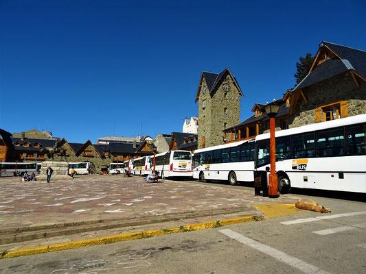Die Busfahrer streiken!
