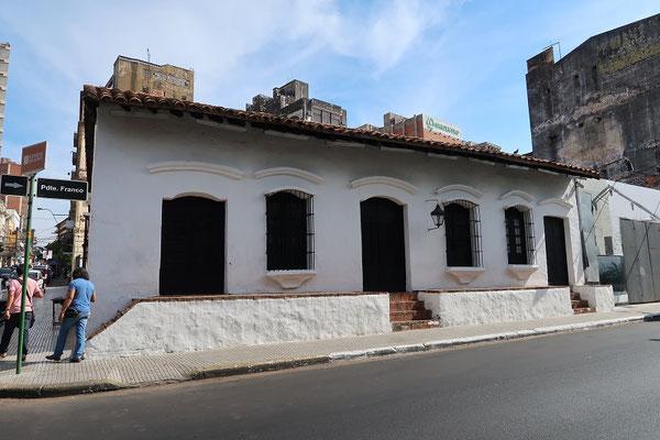 Casa Independencia - von hier aus wurde die Unabhängigkeit von Spanien organisiert....