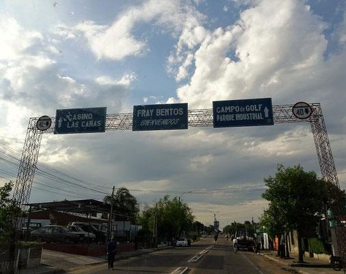 Frey Bentos an der Grenze zu Argentinien