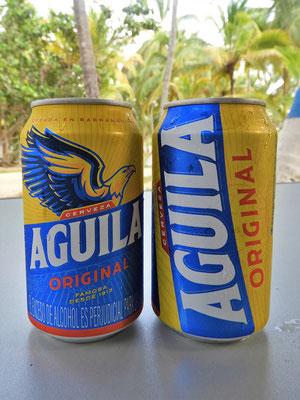 Kolumbianisches Bier, das uns schmeckt - wird in Bogotá von der Brauerei Bavaria S.A. hergestellt