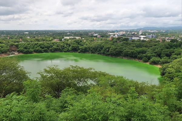 ....und dem Kratersee Laguna Tiscapa