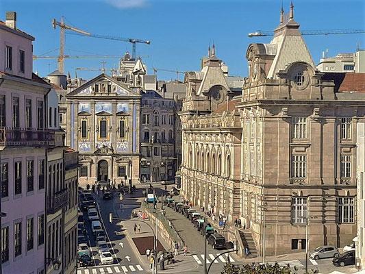 Bahnhof São Bento rechts....