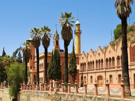Castillo de la Glorieta - ehemaliges Wohnhaus eines Minenbarons....